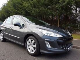 MARCH 2010 PEUGEOT 308 SPORT 1.6 HDI EXCELLENT CONDITION THOUGHOUT MOT MAY 2017!!