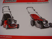 MOUNTFIELD S421PD POWER DRIVE LAWNMOWER 100CC ENGINE BOXED OR ASSEMBLED READY FOR USE