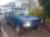 Land rover discovery 300tdi automatic
