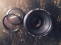 Canon EF 50mm F/1.4 USM Lens good condition second hand