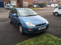 Ford Focus LX, 1.8 Zetec, Y reg, (2000), 138k miles, lady owner, runs and drives great!