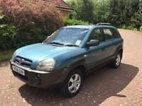 Hyundai Tuscan 2ltr crtd gsi 4wd 05reg very clean throughout