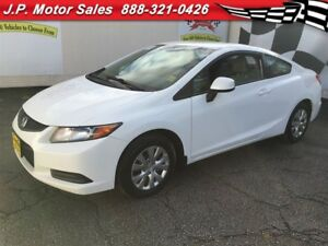2012 Honda Civic Coupe LX, Automatic, Steering Wheel Controls