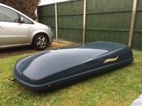 Large roof box . Good condition