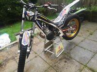 Trials bike Sherco st
