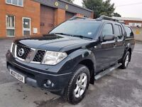 2007 NISSAN NAVARA DCI OUTLAW 96K MIL ONLY,SPARES OR REPAIR,STARTS AND DRIVES