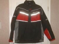 MANS SNAP ON COAT FULLY WEATHER PROOF SIZE LARGE £20 O.N.O