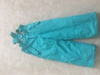 Turquoise Sallappettes from Mountain Warehouse Aged 3 - 4 years