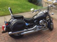 Yamaha XVS 650A Cruiser. very low mileage, one owner, MOT Sept 18