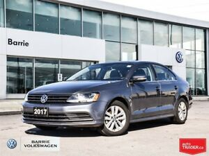 2017 Volkswagen Jetta Wolfsburg Edition; bluetooth; alloy wheels