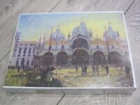 Piazza San Marco 1000 Pce Jigsaw Puzzle By Mouth & Foot Artist Keith Jansz-New & Sealed