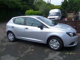 Seat IBIZA S AC-CR-TDI 2012 Silver 1.2 Diesel Low Mileage 6 months warranty PX considered
