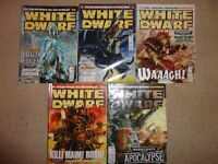 White Dwarf Games Workshop 5 Issue Job Lot Issues 333, 334, 335, 336, 337