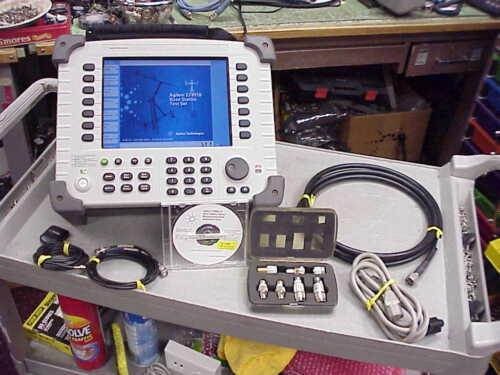 Agilent E7495B Base Station Test Set w/Case, Backpack & Cal Cert