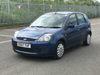 2007 FORD FIESTA STYLE 1.2 *5 DOOR * SERVICE HISTORY * NEW MOT * P/X * NATIONWIDE DELIVERY