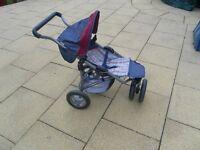 Silver Cross dolls buggy / jogger/ stroller