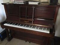 Upright piano made by Hebbard & Son London