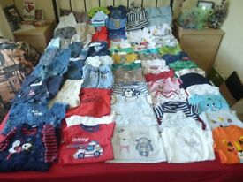 Baby Boys Clothes/Clothing Bundle 3-6 Months - 71 items (plus a bag of socks)