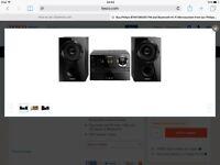 Phillips BTM1360/05FM and Bluetooth Hi-Fi Micro system