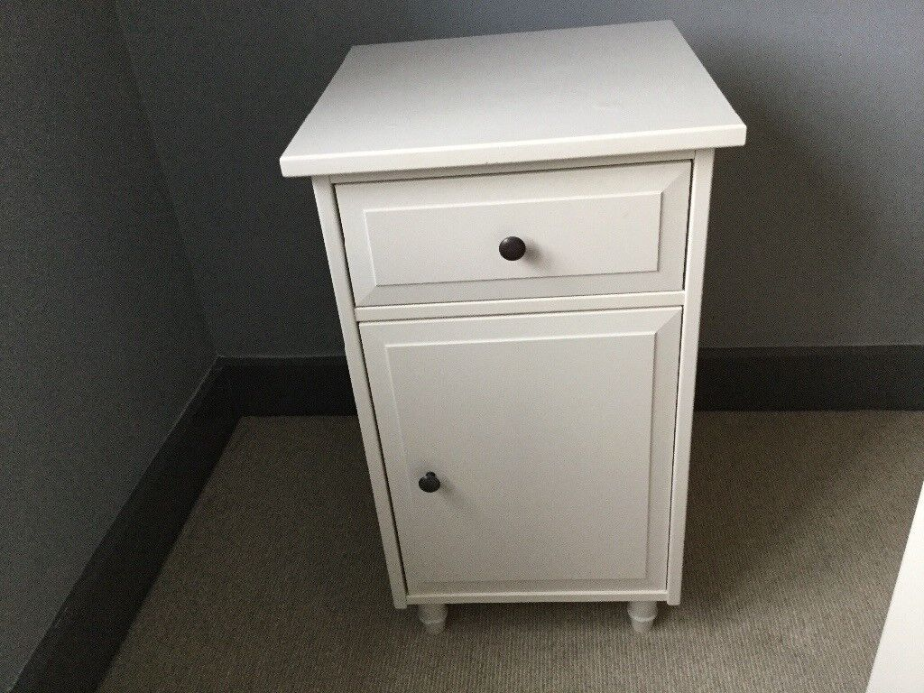ikea hemnes bedside table white in uckfield east sussex. Black Bedroom Furniture Sets. Home Design Ideas