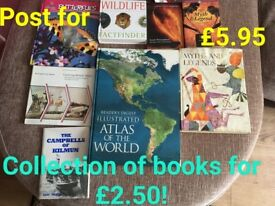 Collection of information books for £2.50!!!