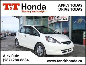 2014 Honda Fit DX-A *Local Car, No Accidents, Low KMs*