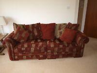 Ashley Manor 3-4 Seater Split Scatterback Sofa & 2 Seater Standard Back Sofa