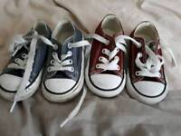 infant converse trainers size 4