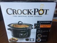 Crockpot - The Original Slow Cooker - Brand New , Never Used!