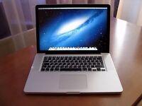 "15"" Apple MacBook Pro 2.8Ghz 4gb 320GB HD Pro Tools 10 Cubase FL Studio 11 Logic Pro Reason Sibelius"