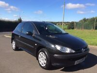 Peugeot 206 1.4 S 3dr, 11 months MOT, service history, cambelt & clutch replaced, low mileage.
