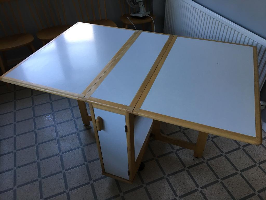 Folding kitchen table | in Haslemere, Surrey | Gumtree