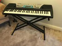 Yamaha Keyboard and Stand