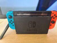 Nintendo switch + 7 games