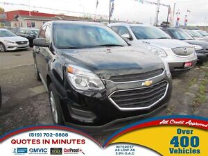2016 Chevrolet Equinox LS   ONE OWNER   CAM   AWD