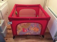 Chico play pen in excellent condition