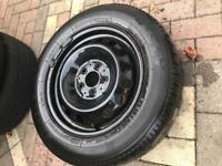 Mercedes vito/viano/Vclass alloy wheel tyres