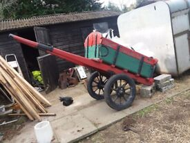 Old horse cart plus 3 gigs