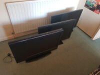 """LOOK! 32"""" LCD TV's with Freeview to clear £50 each"""