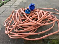 Electrical cable for caravan.