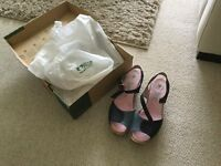 Women's wedge shoes size 6 brand new with box