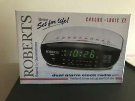 Roberts Alarm clock Brand New never been out box