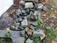 Rocks free upon collection