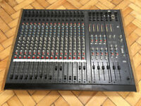 AHB, Allen and Heath, Ananlogue mixing console, mixer desk