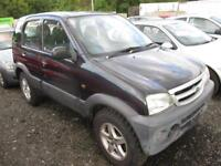 DAIHATSU TERIOS TRACKER (black and grey) 2005