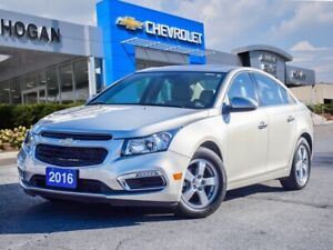 2016 Chevrolet Cruze Leather seats | Sunroof