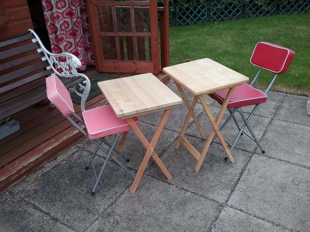 - 2 X Childrens Folding Tables And Chairs In Dalgety Bay, Fife Gumtree