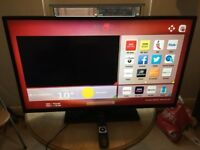 42-Inch Hitachi smart led tv with freeview HD -- Excellent condition