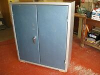 Steel security cabinet