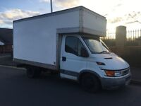 Large luton van with driver fixed rates phone Rod on 07494 425627